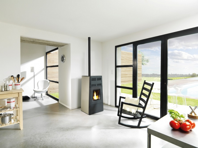 les po les granul s chemin es gotti lons le saunier. Black Bedroom Furniture Sets. Home Design Ideas